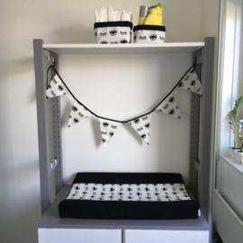 set babykamer - wit&zwart | ogen