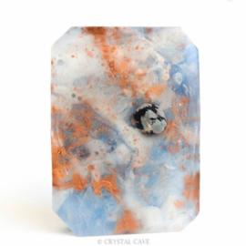 Sneeuwvlok Obsidiaan Edelsteen zeep (klein)