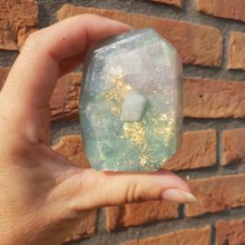 Amazoniet Edelsteen zeep