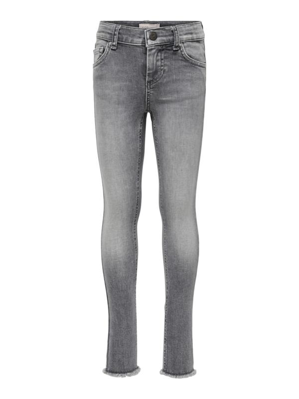 Kids ONLY konblush jeans grijs
