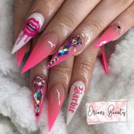 Queen of Decals - Pink Drippy Lips 'NEW RELEASE'