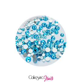 Crystal.Cakey - Aquamarine 'MIXED PACK'
