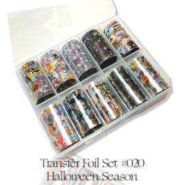 CakesInc.Nails - Transfer Foil Set #020 'Halloween Season' Negative Space