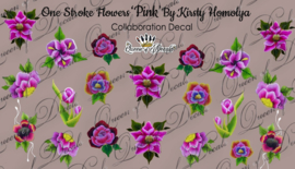 Queen of Decals - One Stroke Pink by Kristy Homolya