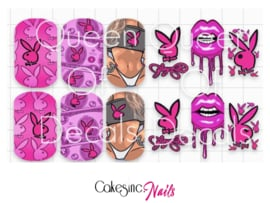 Queen of Decals -  Sexy Pink 'NEW RELEASE'