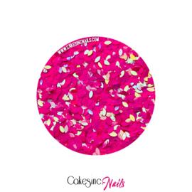 Glitter.Cakey - Hot Pink 'THE PETALS'
