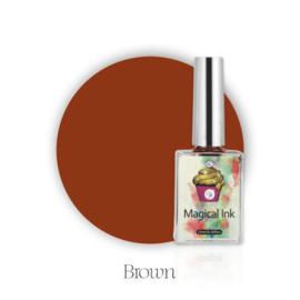 CakesInc.Nails - Magical Ink #004 'Brown'