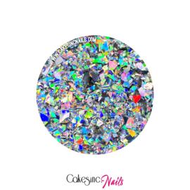 Glitter.Cakey - Holo Silver Ice