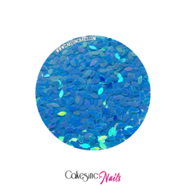 Glitter.Cakey - Baby Blue 'THE PETALS'