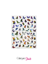 Glitter.Cakey - Holographic Butterfly Stickers (Z-D3715)
