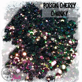 Glitter.Cakey - Poison Cherry 'CHUNKY CHAMELEON'