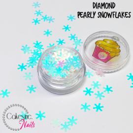 Glitter.Cakey - Diamond Pearly Snowflakes
