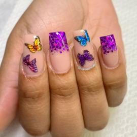 CakesInc.Nails - Transfer Foil Set #019 'Butterfly Season'