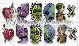 Queen of Decals - Voodoo Dolls 'NEW RELEASE'