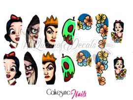 Queen of Decals - Snow White 'STICKY DIAMOND COLLAB' (The Ultimate)