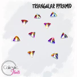 Crystal.Cakey - Triangular Pyramid 5mm