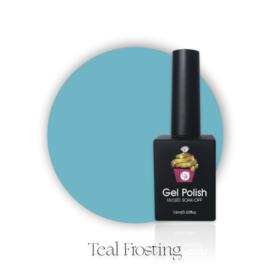 CakesInc.Nails -  Gel Polish '#033 Teal Frosting'