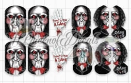 Queen of Decals - 'Jigsaw' collaboration decal with 'Natasha Newton' (full cover)