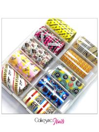 CakesInc.Nails - Transfer Foil Set #024 'Luxury Inspired'