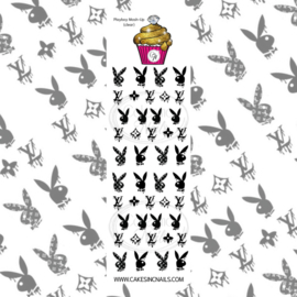 CakesInc.Nails - Playboy Mash-Up 'NAIL DECALS'