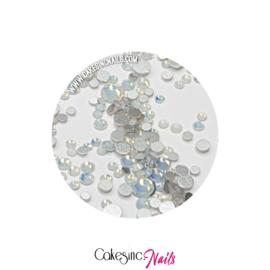 Crystal.Cakey - White Opal