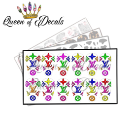 Queen of Decals - V L Multi Mix 'NEW RELEASE'