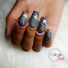 Glitter.Cakey - Galaxy Silver Flakes