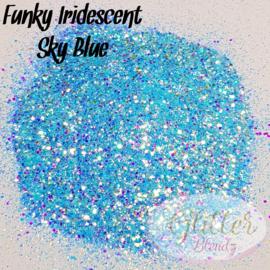 Glitter Blendz - Funky Iridescent Sky Blue