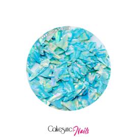 Glitter.Cakey - Blue 'SEA SHELLS'