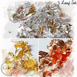 Glitter.Cakey - 3 Leaf Set