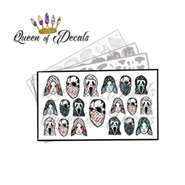 Queen of Decals - Horror V L 'NEW RELEASE'