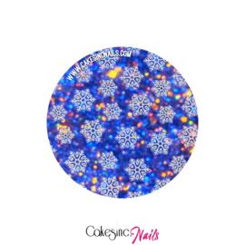 Glitter.Cakey - Snowflakes Sticker Sheet '183'