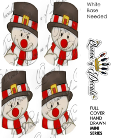 Queen of Decals - Christmas Snowman (Mini Series)