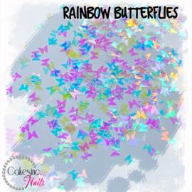Glitter.Cakey - Rainbow Butterflies