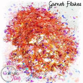 Glitter.Cakey - Garnet Flakes