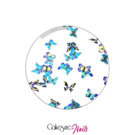 Glitter.Cakey - Blue Haze Butterflies 'THE SLICES'