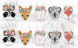 Queen of Decals - Autumn French Tip Cuties 'NEW RELEASE'