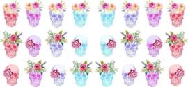 Queen of Decals - Pastel Sugar Skulls