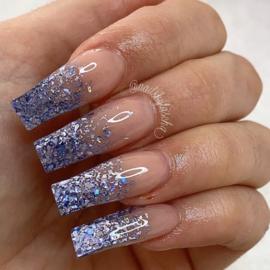 Glitter.Cakey - Holo Shards Light Lilac