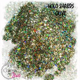 Glitter.Cakey - Holo Shards Olive