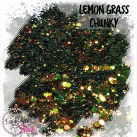 Glitter.Cakey - Lemon Grass  'CHUNKY CHAMELEON'