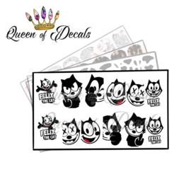 Queen of Decals - Felix the Cat 'NEW RELEASE'