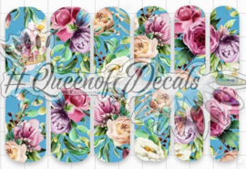 Queen of Decals - A Peony For Your Thoughts 'NEW RELEASE'