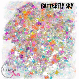 Glitter.Cakey - Butterfly Sky 'CUSTOM MIXED'