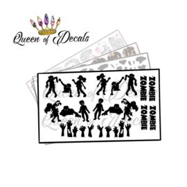 Queen of Decals - Zombie Apocalypse 'NEW RELEASE'