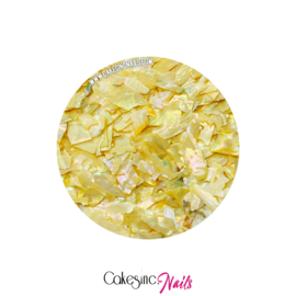 Glitter.Cakey - Yellow 'SEA SHELLS'