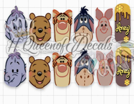 Queen of Decals - Pooh! Bear & Friends 'The Ultimate'