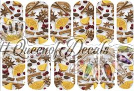 Queen of Decals - Mulled Wine