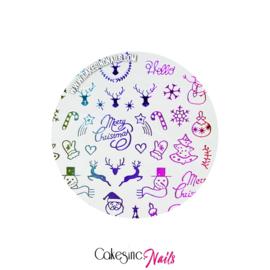Glitter.Cakey - Snowflakes Ombré Sticker Sheet '253'