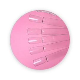 CakesInc.Nails - Clear Square Pop Stick '50 pcs fan'